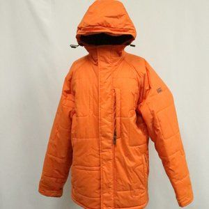 VANS Orange Insulated Winter Coat Rare
